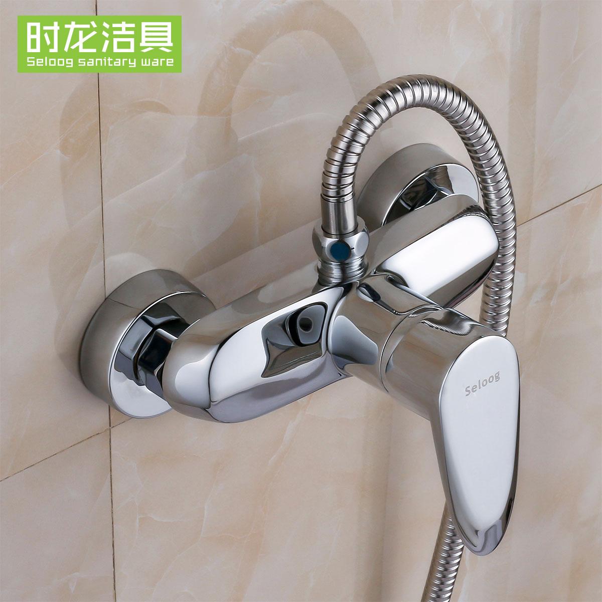 时龙单把全铜淋浴龙头S141006