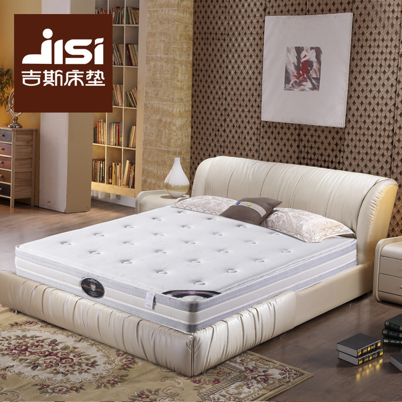 吉斯床垫梦缘软硬两用弹簧棕垫HM036