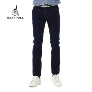 BEANPOLE/滨波 BEANPOLE韩国三星秋冬新款 男士微抓绒保暖牛仔裤 BC5921007