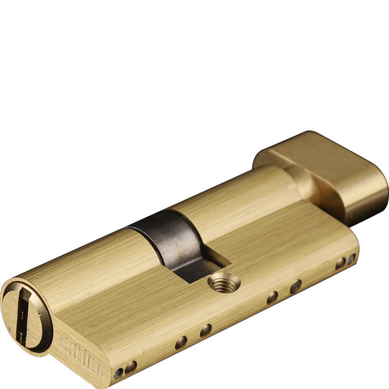 德莱防盗门锁芯室内大葫芦锁芯DA-ZL-A