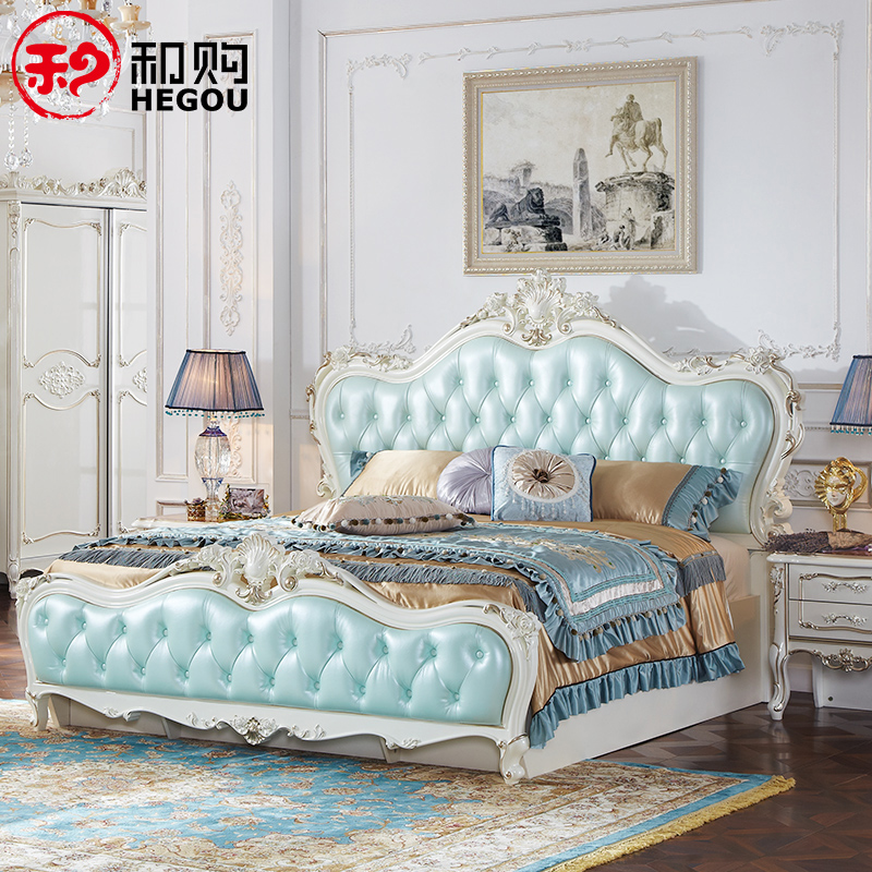 和购欧式床JFY-HG5518