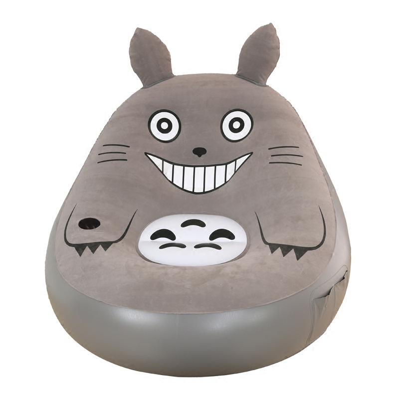 Lazy couch Totoro sheets people inflatable sofa bedroom cute recliner small lunch break fashion cushion sofa chair