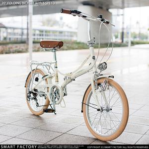 MYPALLAS日本品牌20英寸 变速折叠轻快自行车 男女折叠车 轻快车