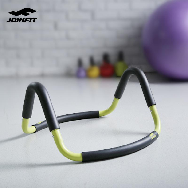 Joinfit瑜伽球架 健身球架子 俯卧撑支架钢 练胸肌器材