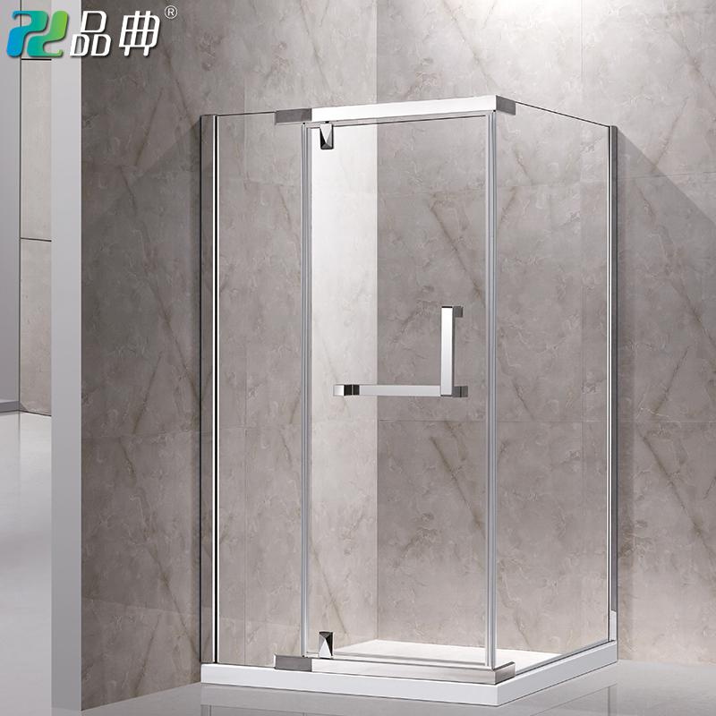 品典l型不锈钢淋浴房钢化玻璃沐浴冲凉整体室