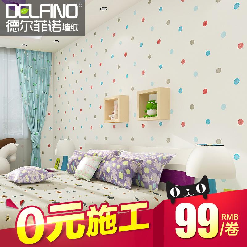 德尔菲诺墙纸儿童房GF74001