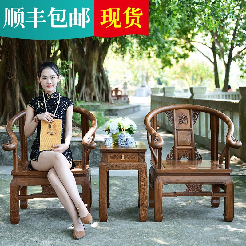 苏汀小镇红木实木家用餐椅Y-96200