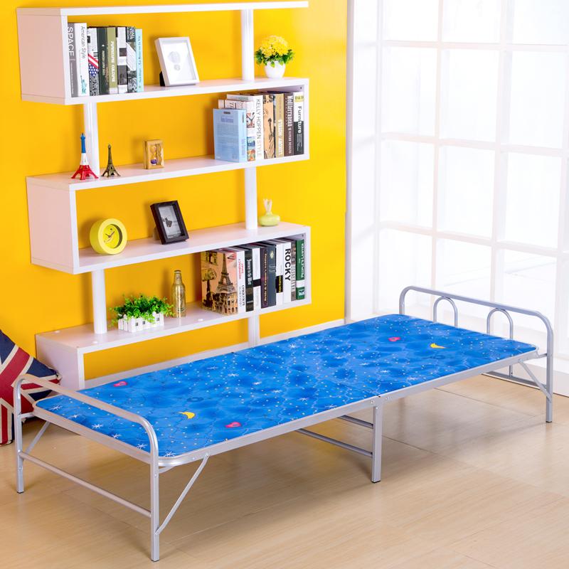 bx折叠床午休床板式铁艺床