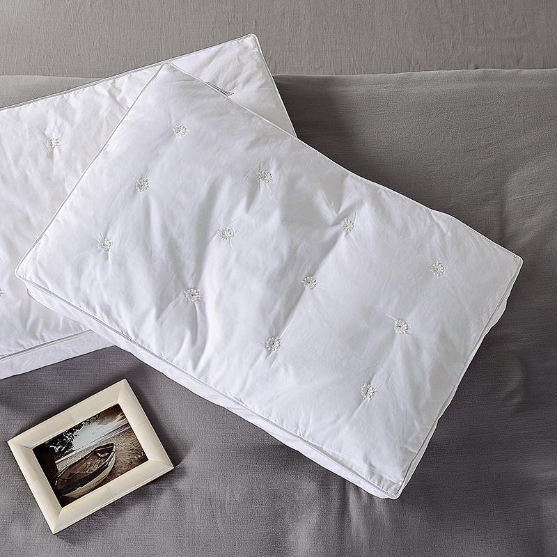 奇居良品床上用品羽绒枕芯ZX003850
