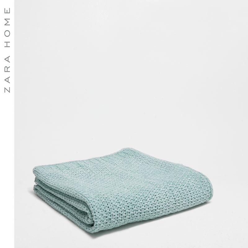 zarahome雪尼尔纱针织毛毯48686004512-22