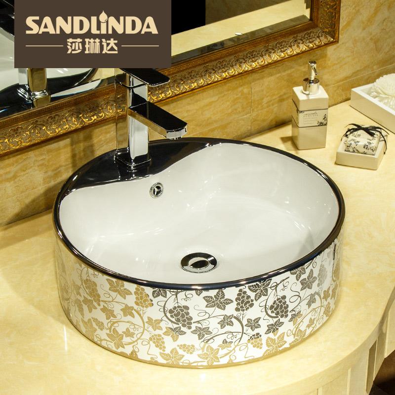 莎琳达台上盆洗手盆5012波尔多珍珠