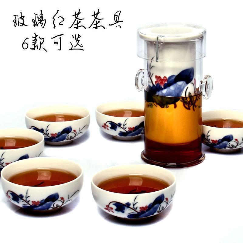 百鸿耐热高温玻璃功夫茶具DTBH5KLS