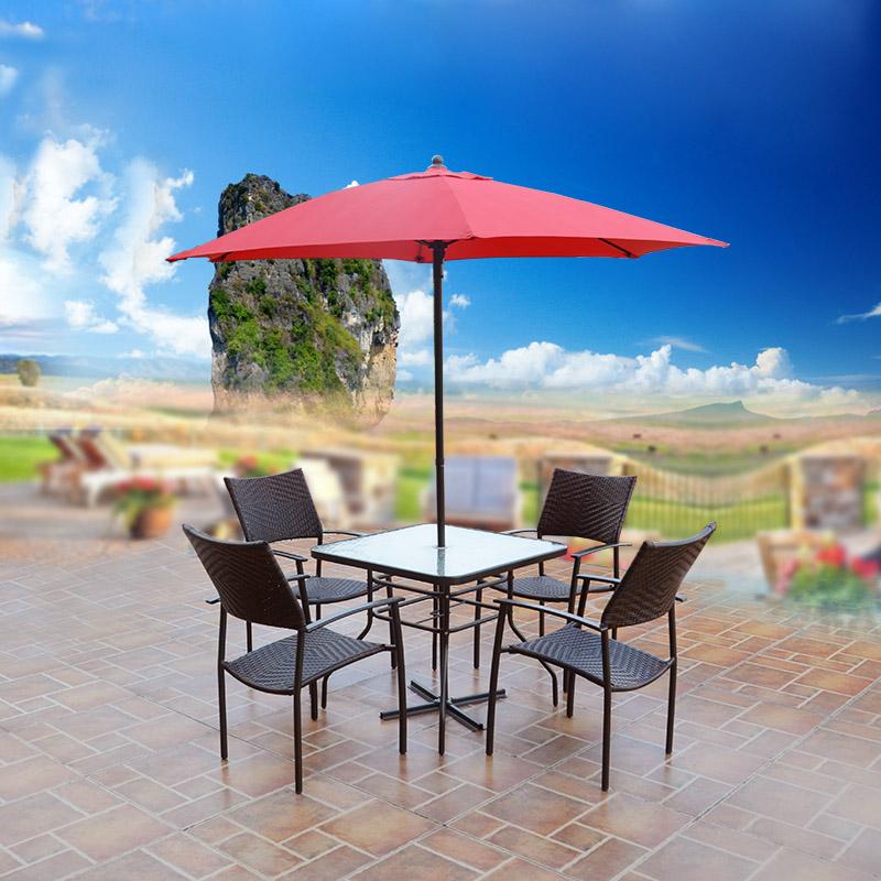 丰舍户外庭院桌椅伞