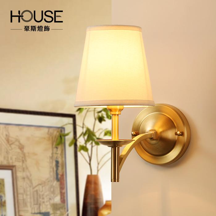 豪斯现代简约全铜壁灯MB250001