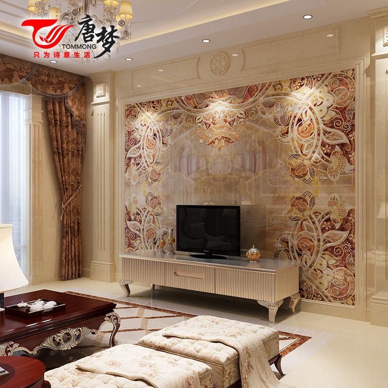 唐梦欧式微晶石背景墙瓷砖