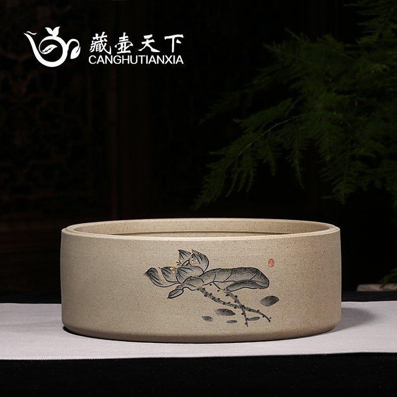 藏壶天下茶具大号茶洗chtx010