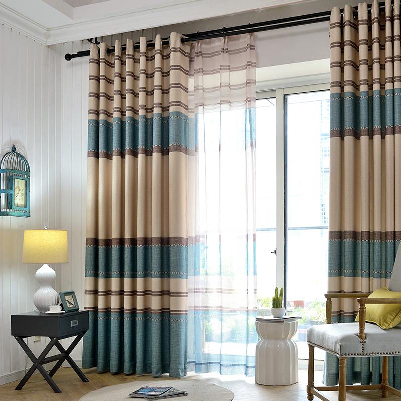 菲空间现代简约窗帘S16016