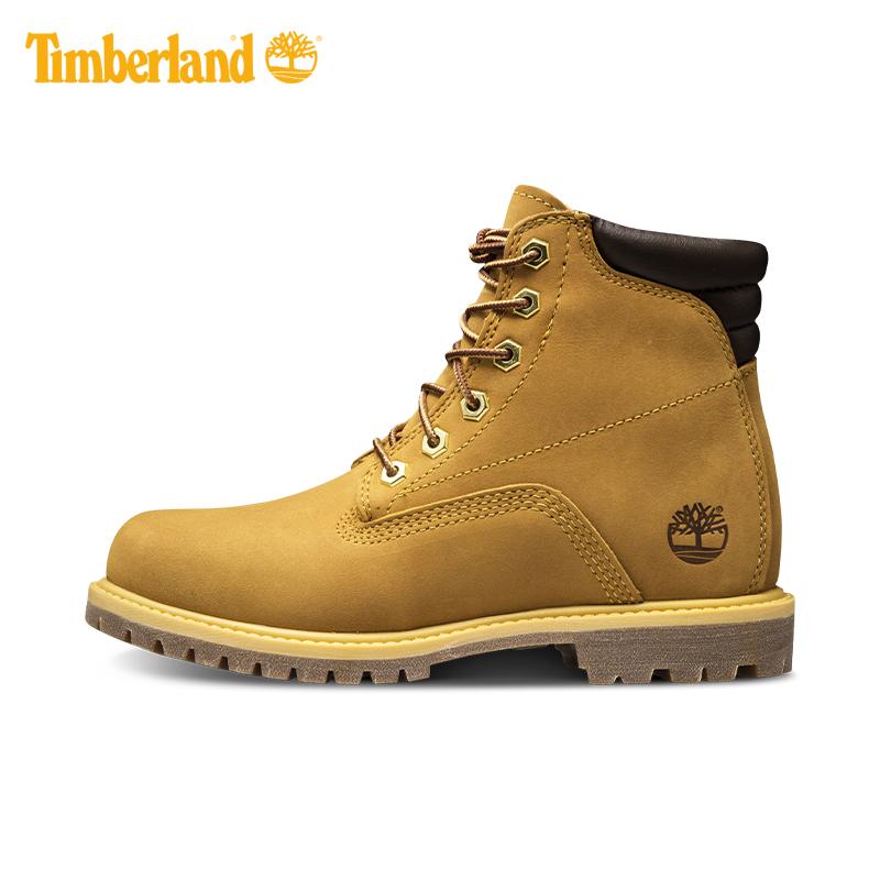 Timberland添柏岚户外女鞋大黄靴同款抓地鞋靴|8168R