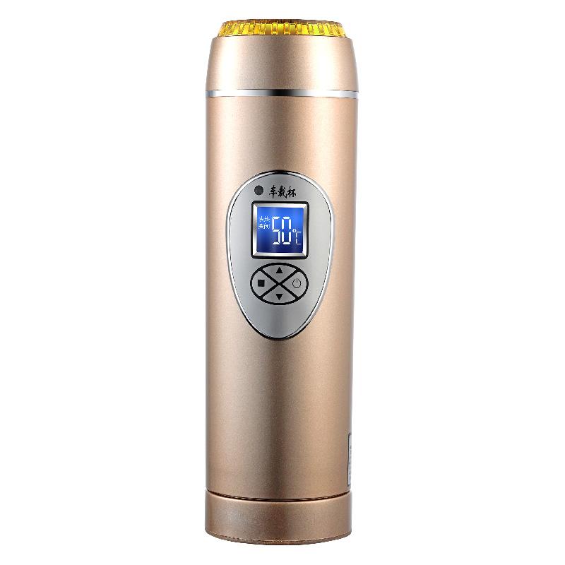 车载烧水壶器热水壶12v烧开水加热水杯电热杯保温旅行迷你热水器