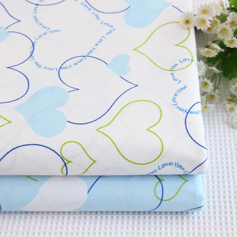 天使雅儿手工布料纯棉斜纹布料00138