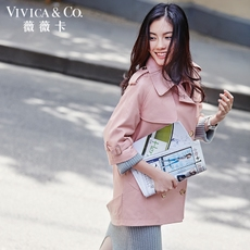 Leather jacket Vivica&co vd03074 2016 3074