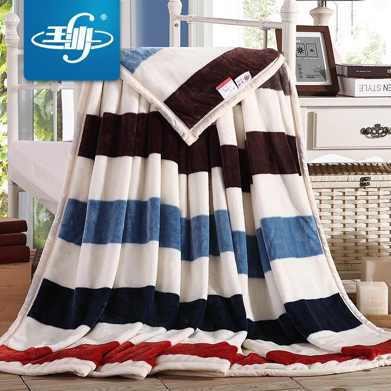 玉沙毛毯冬季加厚ys0025