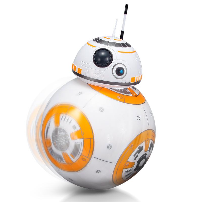 智能机器人星球大战bb8儿童电动玩具旋转遥控人