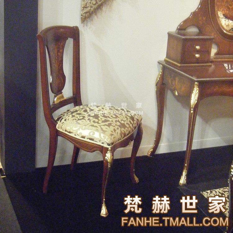 梵赫美式乡村餐椅f6177