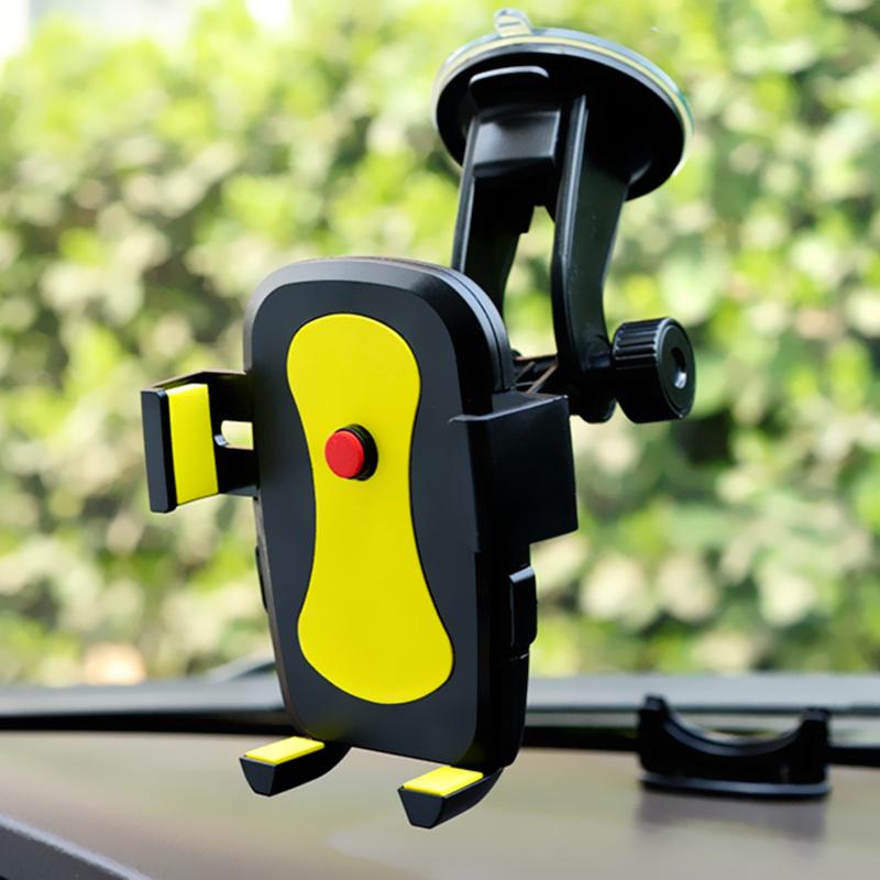 车载手机支架吸盘式前挡玻璃汽车用多功能车内出风口导航座通用型