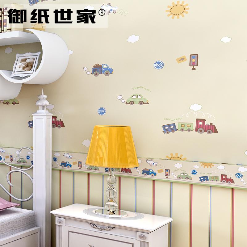御纸世家小汽车儿童房墙纸YZ_0289