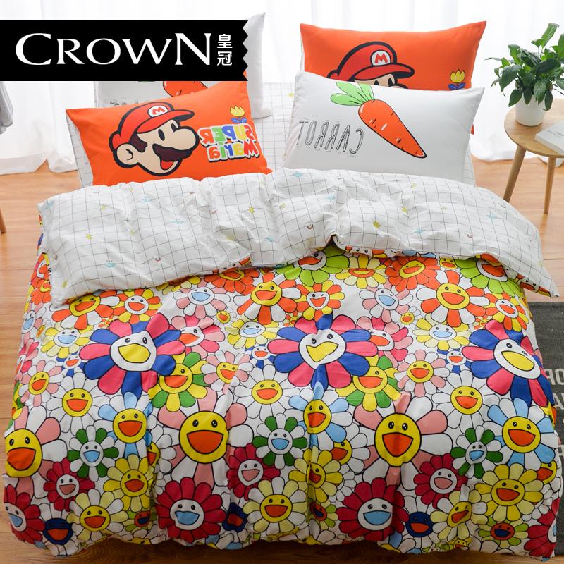 皇冠被套床单hg0823