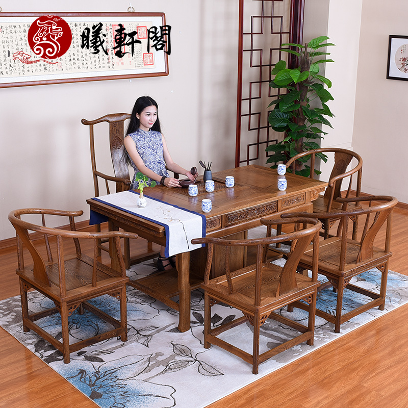 曦轩阁实木茶桌 jcm--czy0016