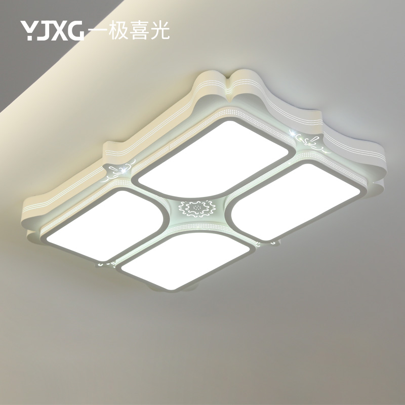 一极喜光大气长方形灯具led吸顶灯YJXG-029-1