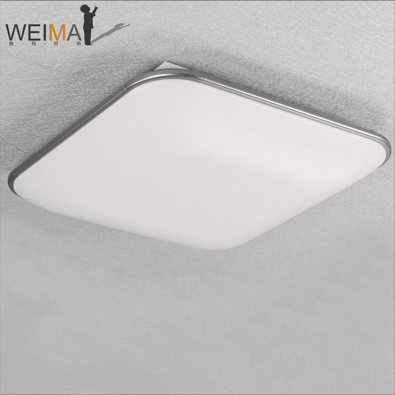 维玛简约现代正方形铝材led吸顶灯P315