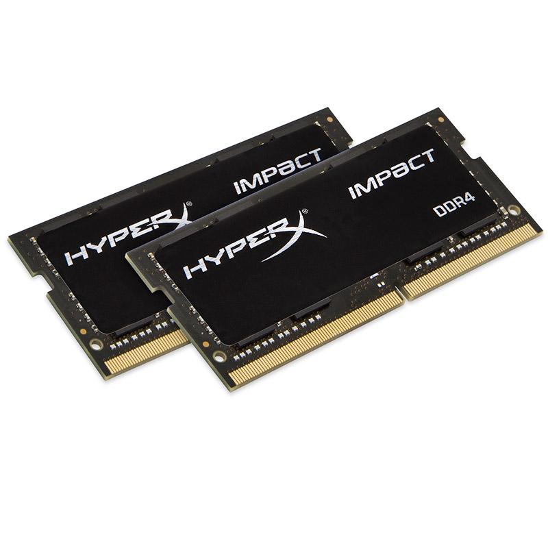 顺丰 金士顿 骇客神条 DDR4 2400 16g(8g*2)笔记本电脑内存条套装