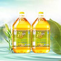 福临门菜籽清香型食用调和油4L*2组合