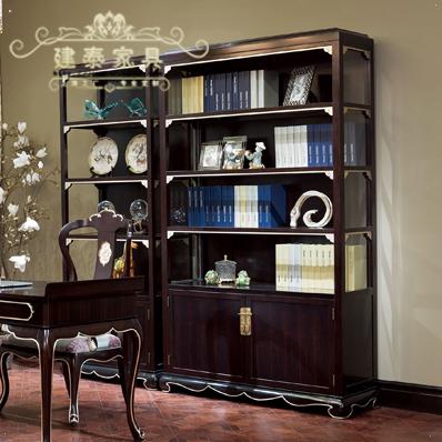 建泰新古典中式实木书桌柜dd063