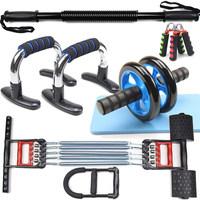 男士锻炼组合握力棒拉力器腕力器握力器家用健身器材套装臂力器