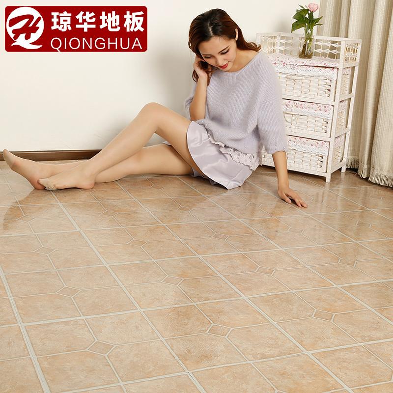 琼华PVC地板小方块