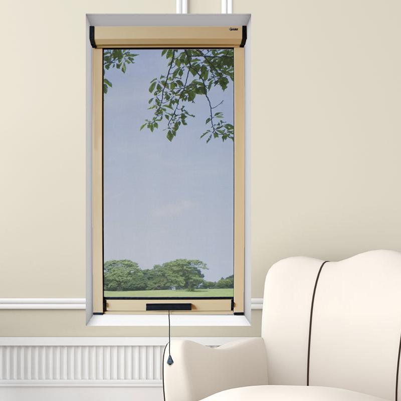 意美达隐形纱窗铝合金门窗防蚊纱a62