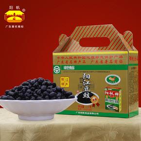 阳江特产黑豆豉干农家风味豆鼓720g
