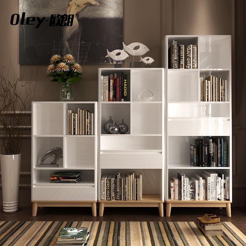 欧朗现代书柜书架