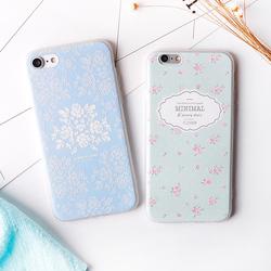 iPhone7手机壳6s苹果6plus手机壳软硅胶套 女款韩国超薄六7小清新