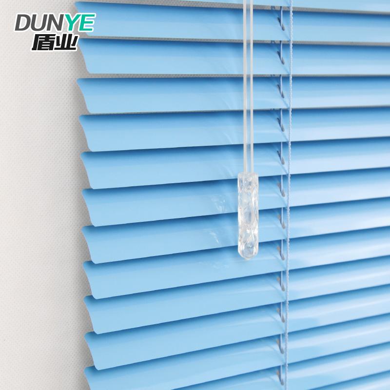 盾业百叶窗铝合金叶片蓝色百叶窗