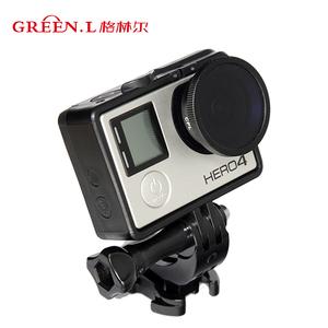 GreenL格林尔 GoPro运动相机滤镜配件边框镜头保护 银狗HERO3+ 4