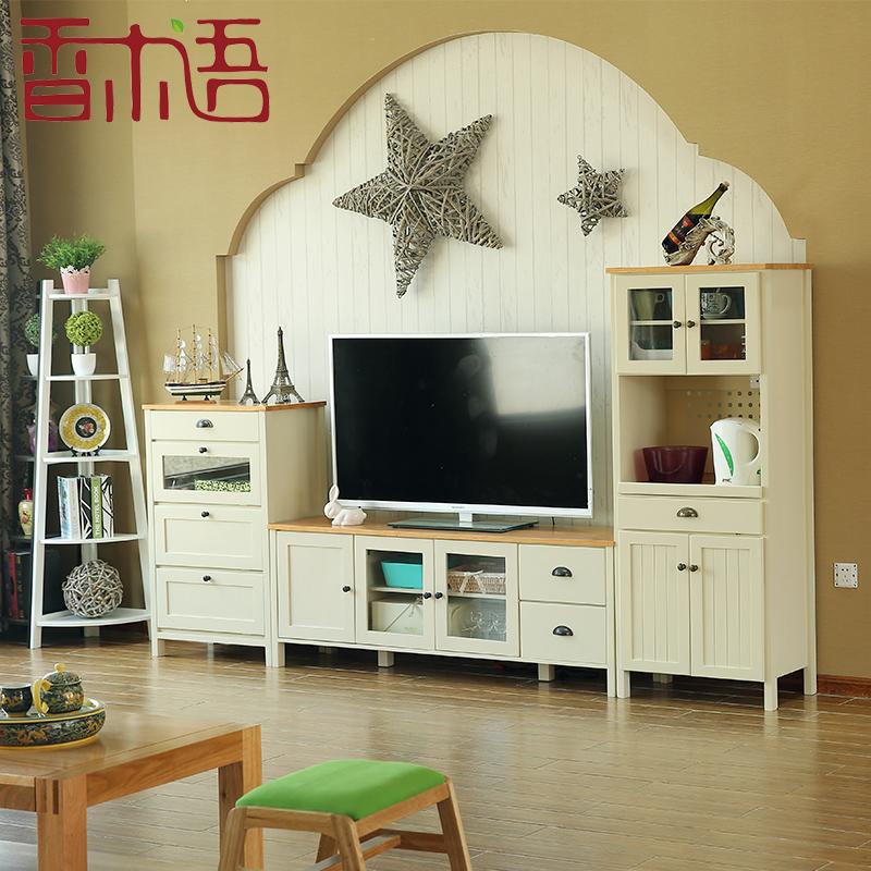 香木语木质电视柜边柜
