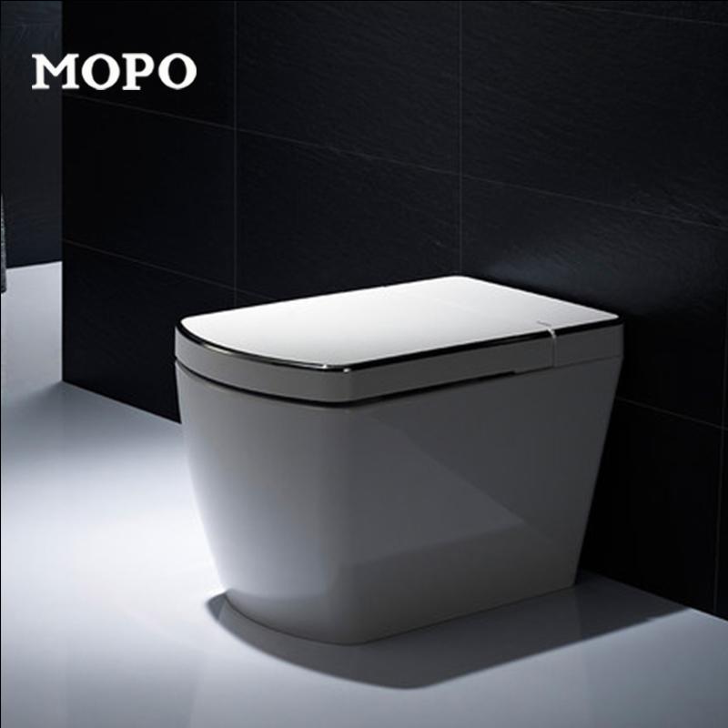 摩普自动冲水一体式智能马桶3001A