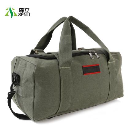 森立大容量短途手提旅行包男无拉杆单肩旅游包旅行袋行李包女