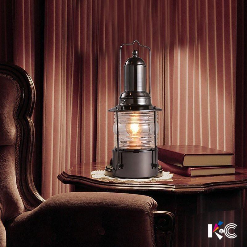 k&c怀旧复古铁艺台灯15-T3639