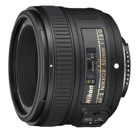 货票同行】Nikon-尼康AF-S尼克尔50mm 1.8G定焦人像标准单反镜头